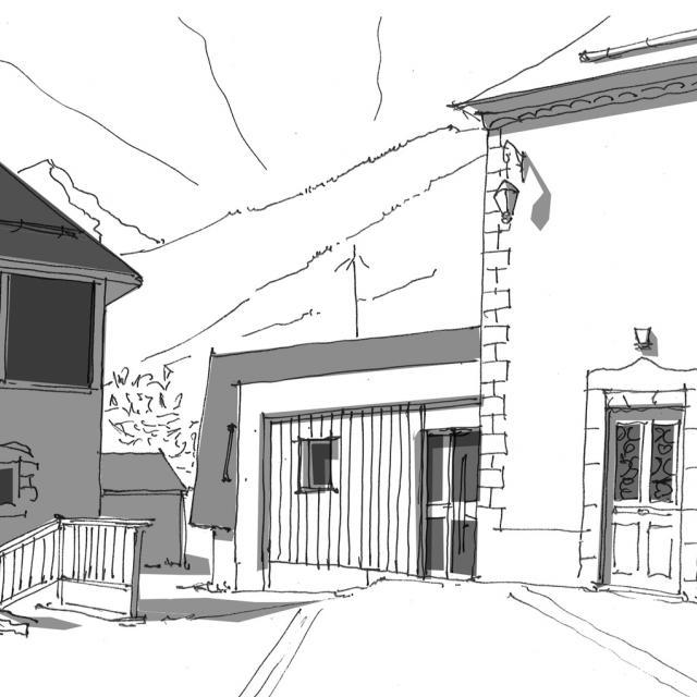 rénovation bureaux Entraigues - Projet atelier Scala - 2017-2018 - Parc national des Écrins