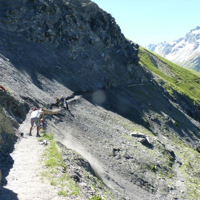 Sentier des crevasses : réouverture annoncée - 27 juin 2018 © PNE
