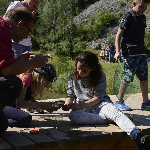 Ecrins de nature 2018 au Bourg d'Oisans - ©  Parc national des Ecrins