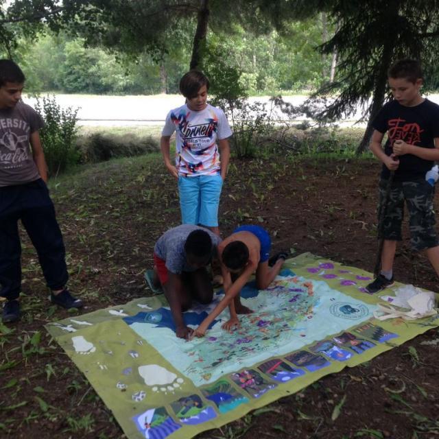 Jeunes au sommet dans les Ecrins - juillet 2018 © C.Delahaye - Fuguencimes