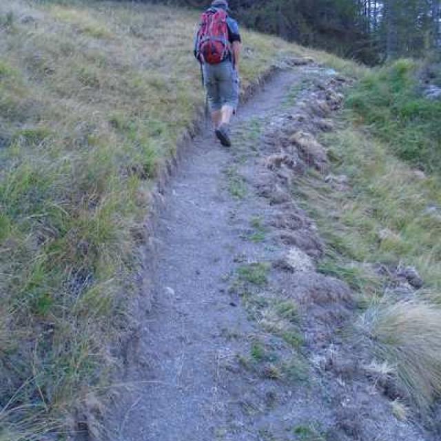Sentier du Laus, après travaux © Parc national des Écrins
