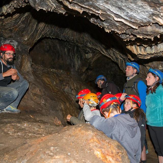 Visite nocturne de la Mine d'Argent à l'Argentière-la-Bessée © Thierry Maillet - PNE