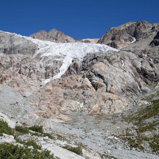 Glacier blanc 2018 - photo Thierry Maillet - Parc national des Ecrins