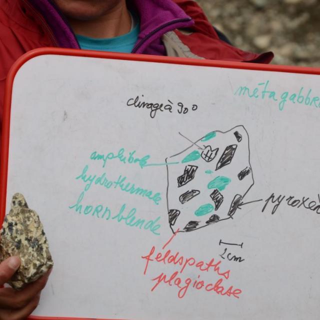 Centre de géologie de l'Oisans - sorties scolaires et tous publics - photo CGO
