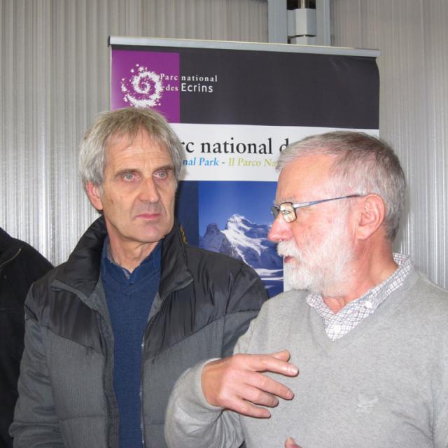 Partenariat de mécénat entre Ogeu-Valécrin et le Parc national des Écrins - 9 janvier 2019 - photo Sandrine de Chastellier - Parc national des Écrins