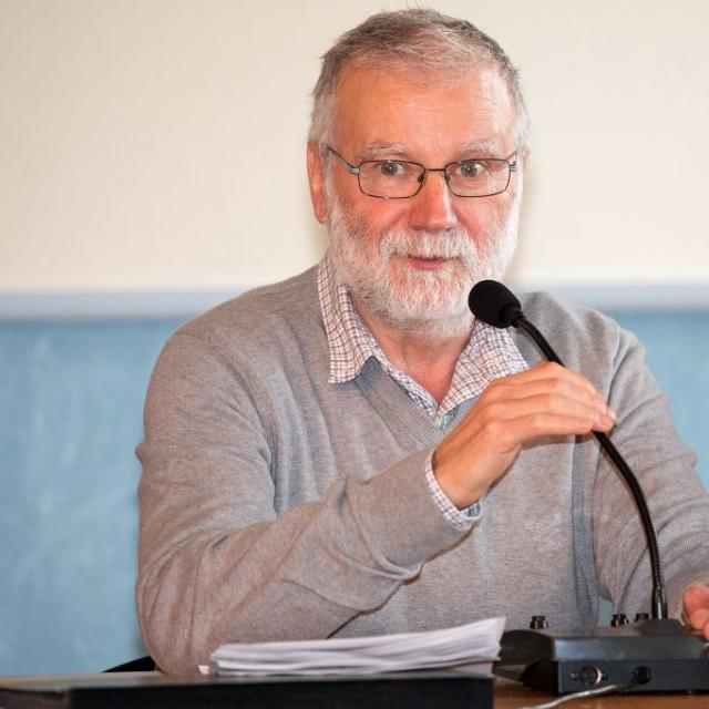 Bernard Héritier, président du Conseil d'administration du Parc national des Écrins © P.Saulay - Parc national des Écrins