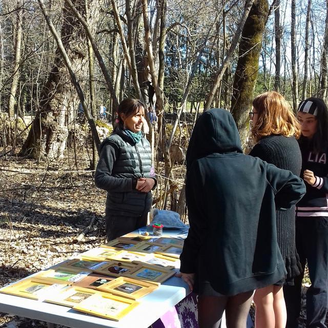 Tous en forêt -21 mars 2019 - photo E.brancaz - Parc national des Ecrins