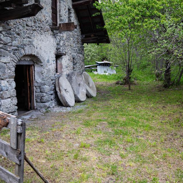 moulin de Vallouise - vivre et travailler en Ecrins -  Ecrins de nature 2019 en Vallouise - © Thierry Maillet -Parc national des Ecrins