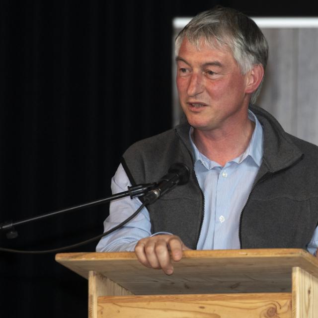 Région AURA- Emmanuel Mandon, conseiller régional - Lancement Biodiv'alp au Monêtier-les-Bains- 4 juin 2019 - photo P.Saulay - Parc national des Ecrins