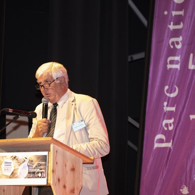 Jean Philippe Siblet - directeur Patrinat - Congrès RNF  - juin 2019 - photo P.Saulay - Parc national des Ecrins