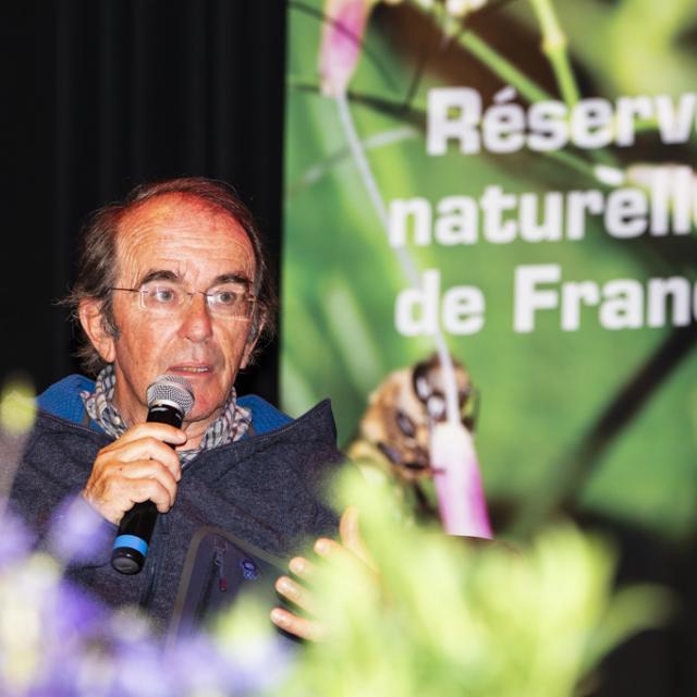 Philippe Buyle- président de la Compagnie des guides Ecrins- Congrés RNF juin 2019- photo T.Maillet - Parc national des Ecrins