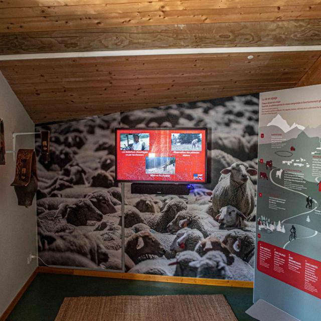 maison des alpages - juin 2019 - photo Bernard Cloüet