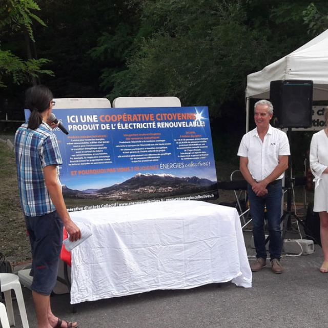 energie collective Embrun - inauguration