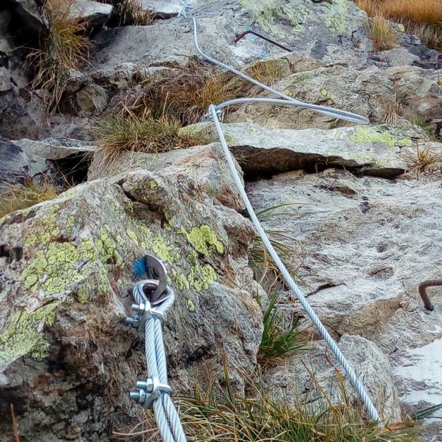 Travaux sentier lac des Rouies - sept 2019 - © S.D'houwt - Parc national des Ecrins