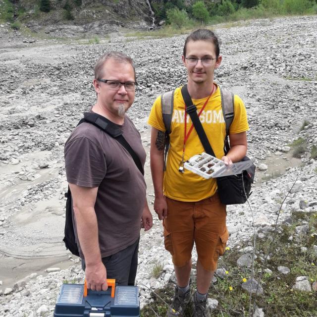 Prospection  ascomycetes en Oisans - août 2019- © J.Forêt - Parc national des Écrins