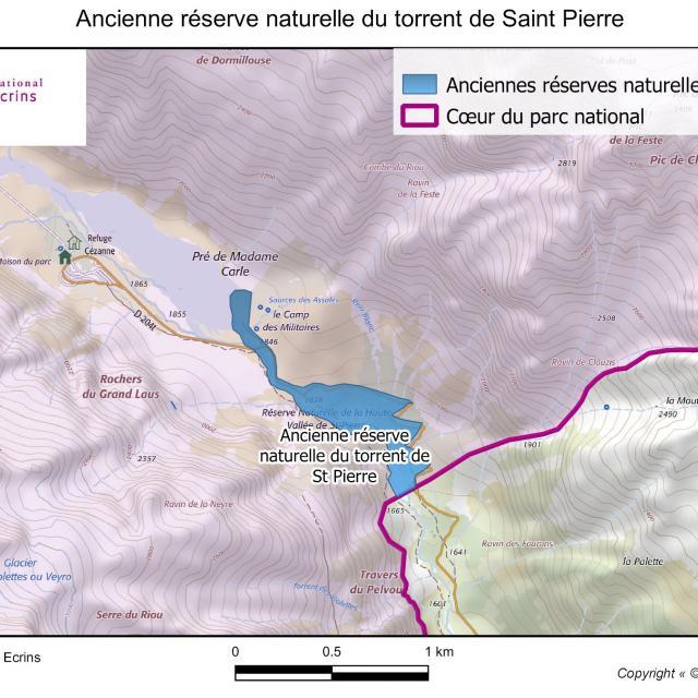 Ancienne réserve naturelle du torrent de Saint-Pierre
