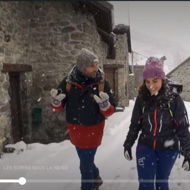 Extrait émission Échappées belles dans les Écrins - Février 2020