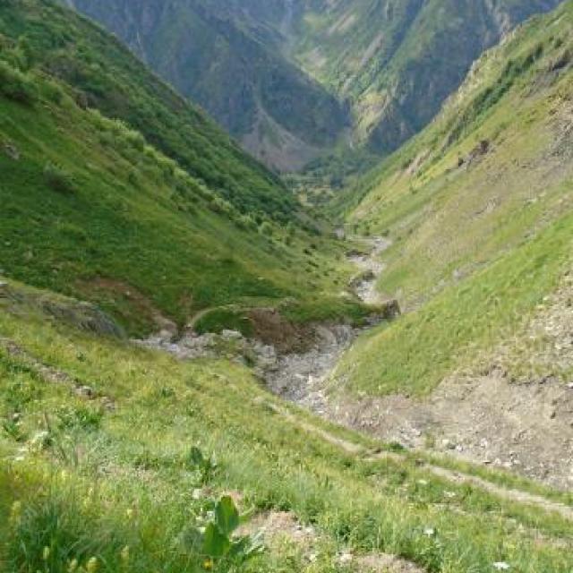 Côte Belle - photo S.D'Houwt - Parc national des Ecrins