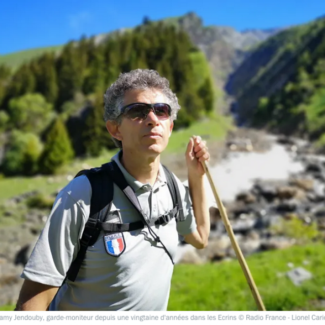 Dans le Valbonnais, avec le Parc national des Ecrins - photo France bleu isère - Lionel  Carriou