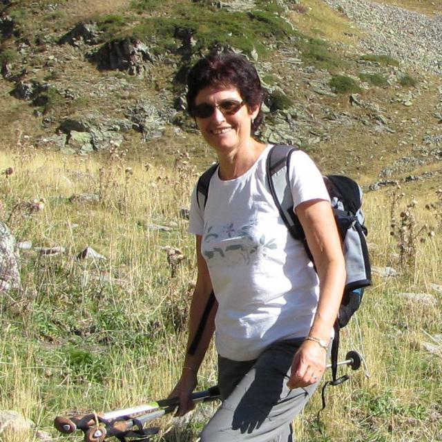 Georgette Guidetti - secrétaire-hôtesse du Parc national des Ecrins dans le Valbonnais