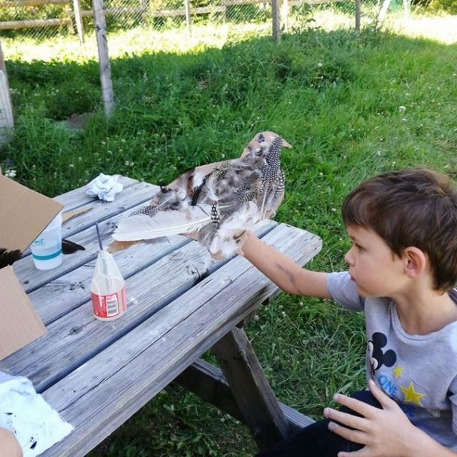 Atelier enfants au Casset - PNE