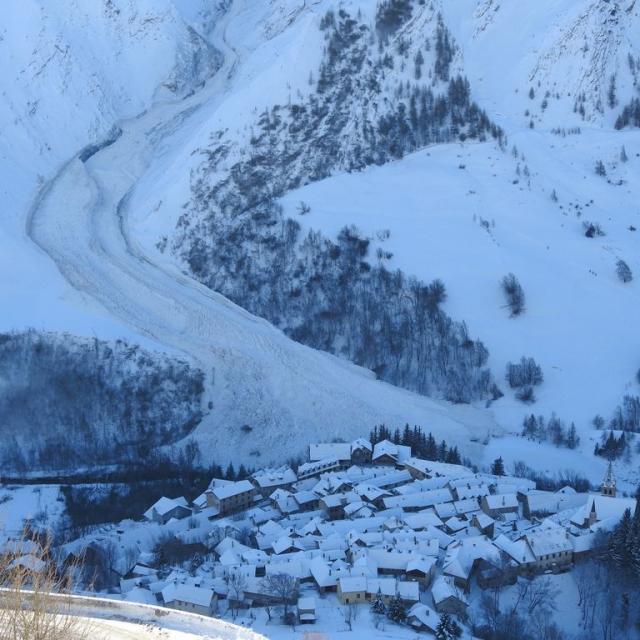 Avalanche à La Grave du 11/02/2021 - © E. Vannard - PNE