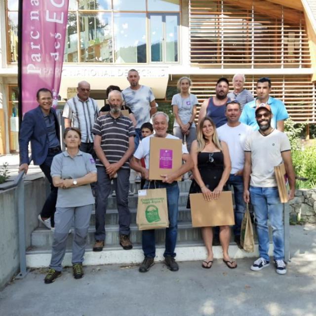 Concours des prairies fleuries : les gagnants - H. Quellier - PNE