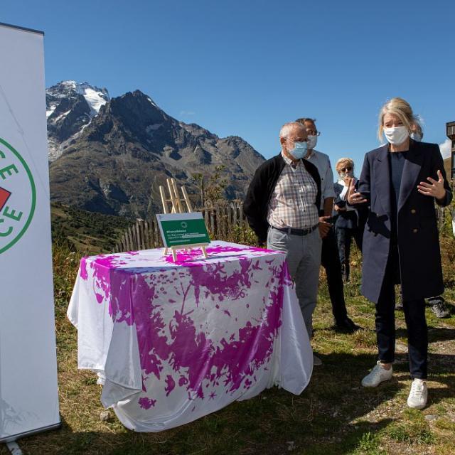 Bérangère Abba, Bernard Héritier et Claire Bouchet - Thierry Maillet (c) Parc national des Ecrins
