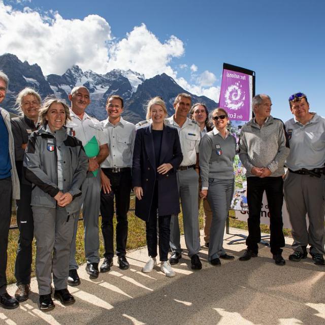 Signature du protocole -Thierry Maillet (c) Parc national des Ecrins