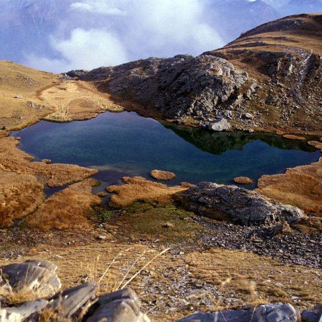 Le lac de l'Hivernet © Christian Couloumy - Parc national des Ecrins