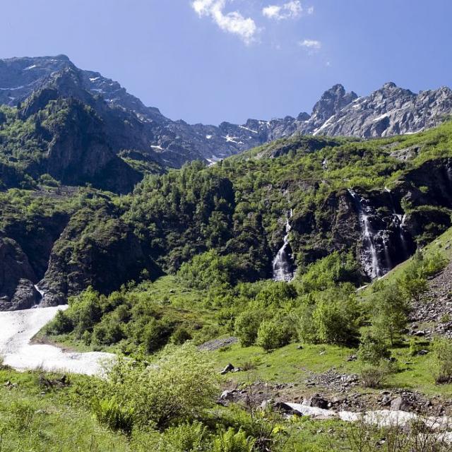 Vallon du Chasserand ©Warluzelle Olivier - Parc national des Ecrins