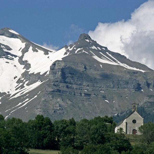 La chapelle des Rissents © Marc Corail - Parc national des Ecrins