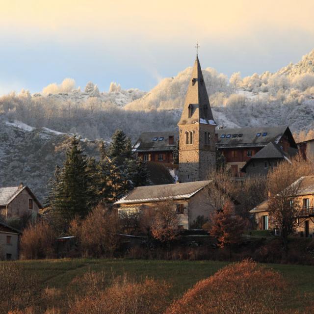 Eglise Saint-Jean - Saint Jean Saint Nicolas ©Marc Corail - Parc national des Ecrins