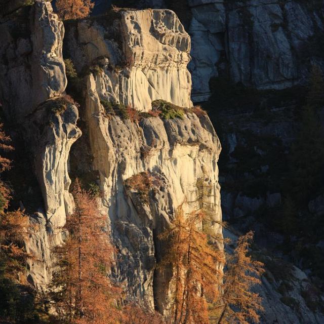 Les Aiguilles de Famourou ©Marc Corail - Parc national des Ecrins