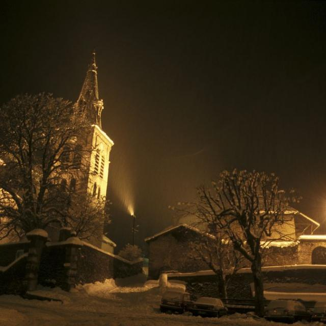 Bourg d'Oisans © Daniel Roche - Parc national des Ecrins