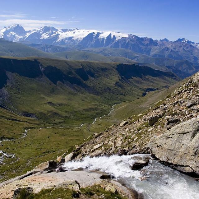 Le Péron  - lac des Quirlies - vallée du Ferrand © Pascal Saulay - Parc national des Ecrins