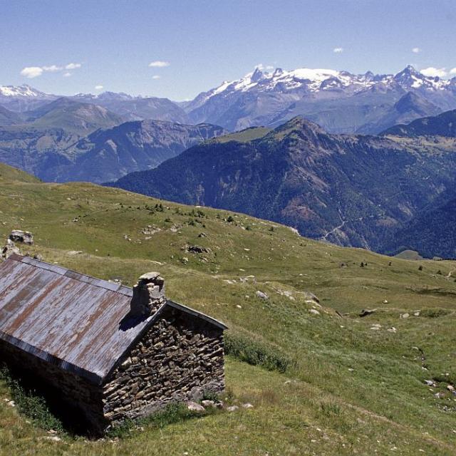 La cabane de la Jasse © Cyril Coursier - Parc national des Ecrins