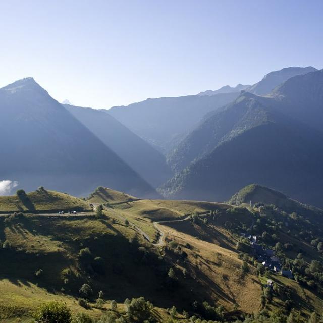 Le village de la Grenonière © Pascal Saulay - Parc national des Ecrins