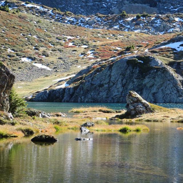 Lac Noir -  Plateau du Taillefer - Commune d'Ornon © Justine Coulombier - Parc national des Ecrins