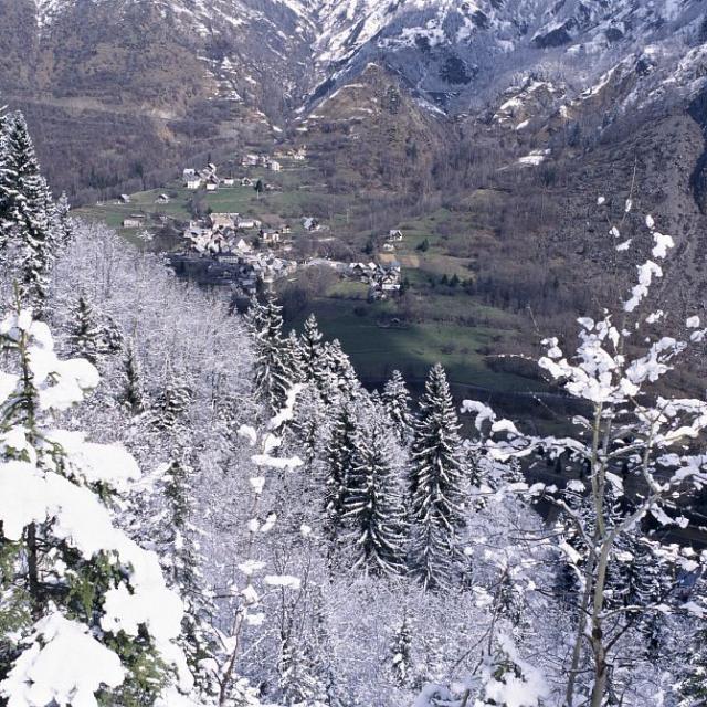 Venosc (Vénéon - Oisans) ©Roche Daniel - Parc national des Ecrins