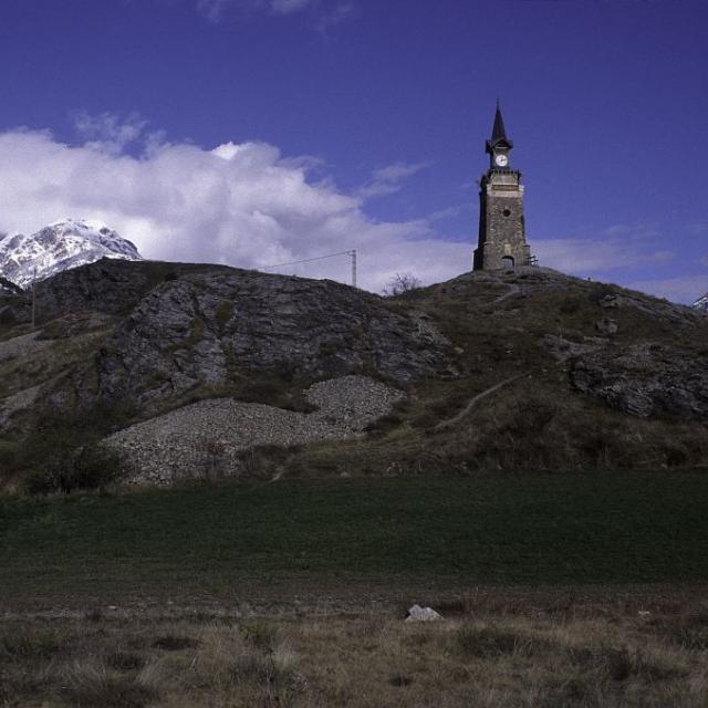 L'horloge de l'Argentière-la-Bessée © Marie-Geneviève Nicolas - Parc national des Ecrins