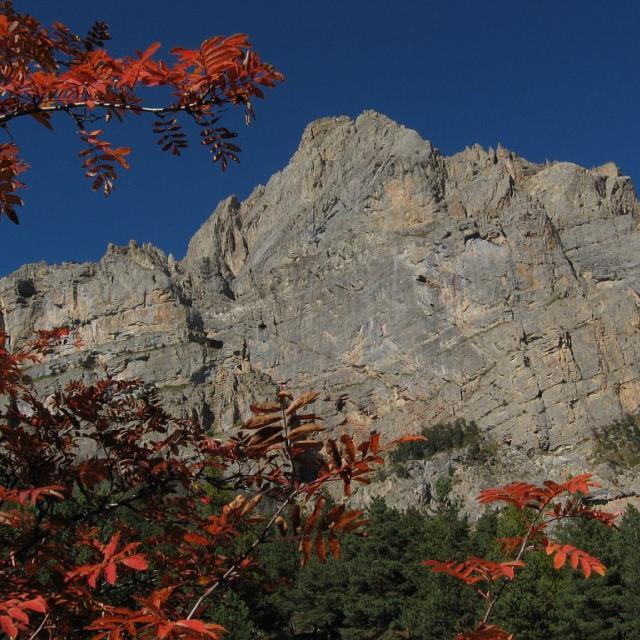 Tête d'Aval à l'automne © Thierry Maillet - Parc national des Ecrins