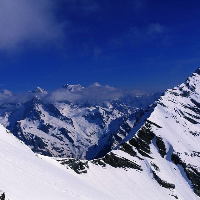 Col de l'Aiglière ©Robert Chevalier - Parc national des Ecrins