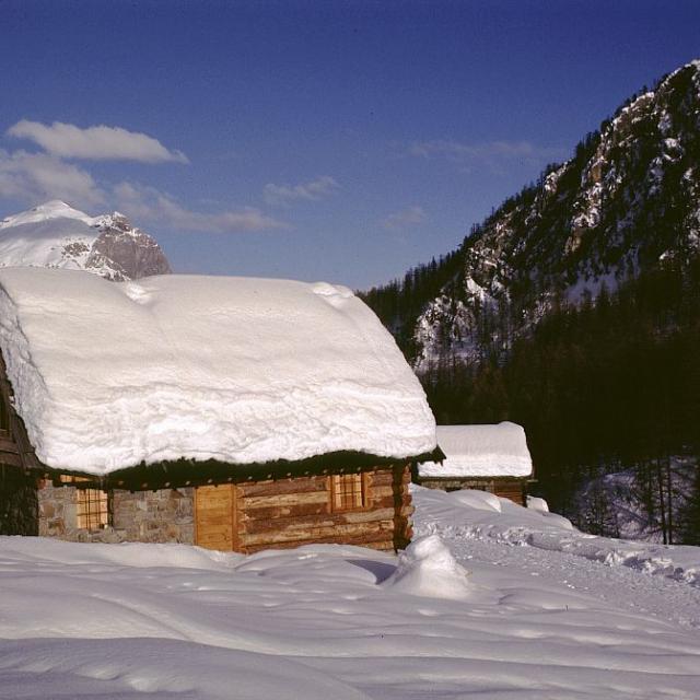 Chalet de montagne ©Robert Chevalier - Parc national des Ecrins