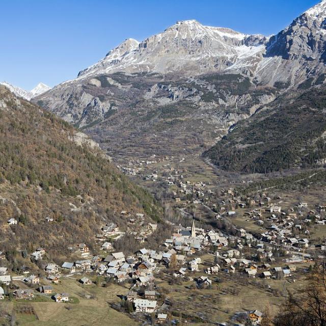 Village de Vallouise©Pascal Saulay - Parc national des Ecrins