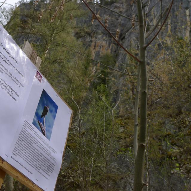 Avertissement grimpeurs © Parc national des Ecrins