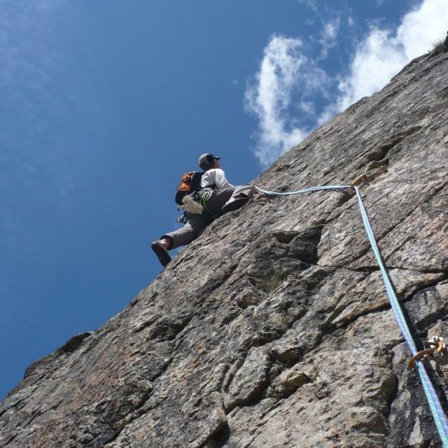 Escalade © Parc national des Ecrins