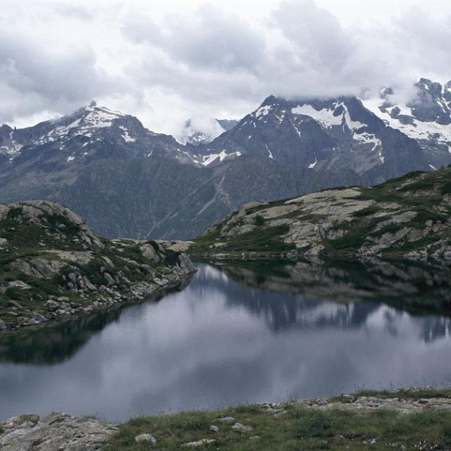 Lac de Pétarel © Olivier Warluzelle - Parc national des Ecrins