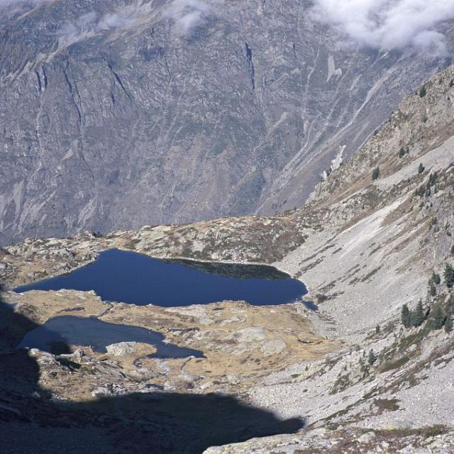 Lacs de Pétarel (Valgaudemar) © Dominique Vincent - Parc national des Ecrins