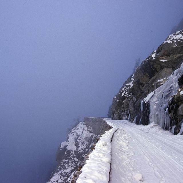 Route de la Bérarde © Denis Fiat - Parc national des Ecrins